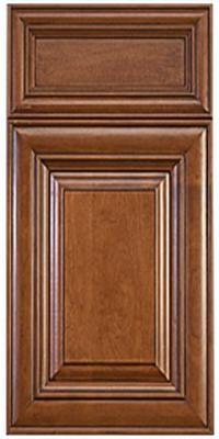 Elite Cinnamon Glaze Luxcraft Cabinets